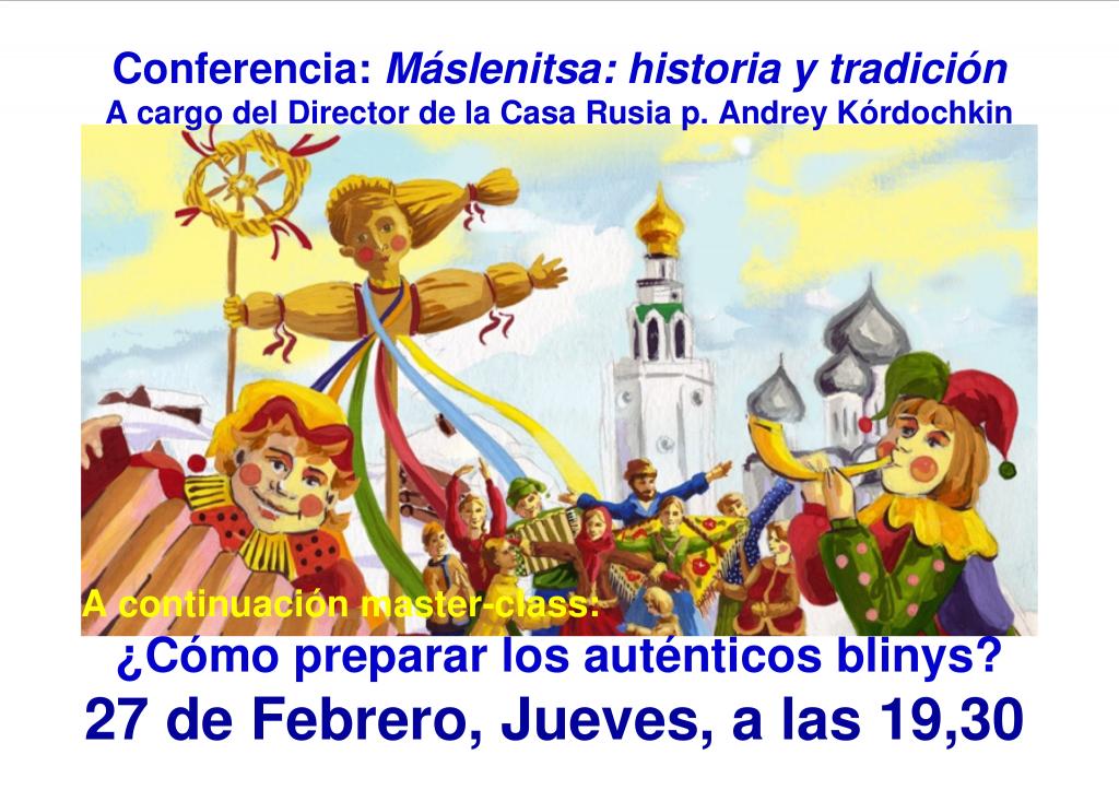 Máslenitsa: historia y tradición