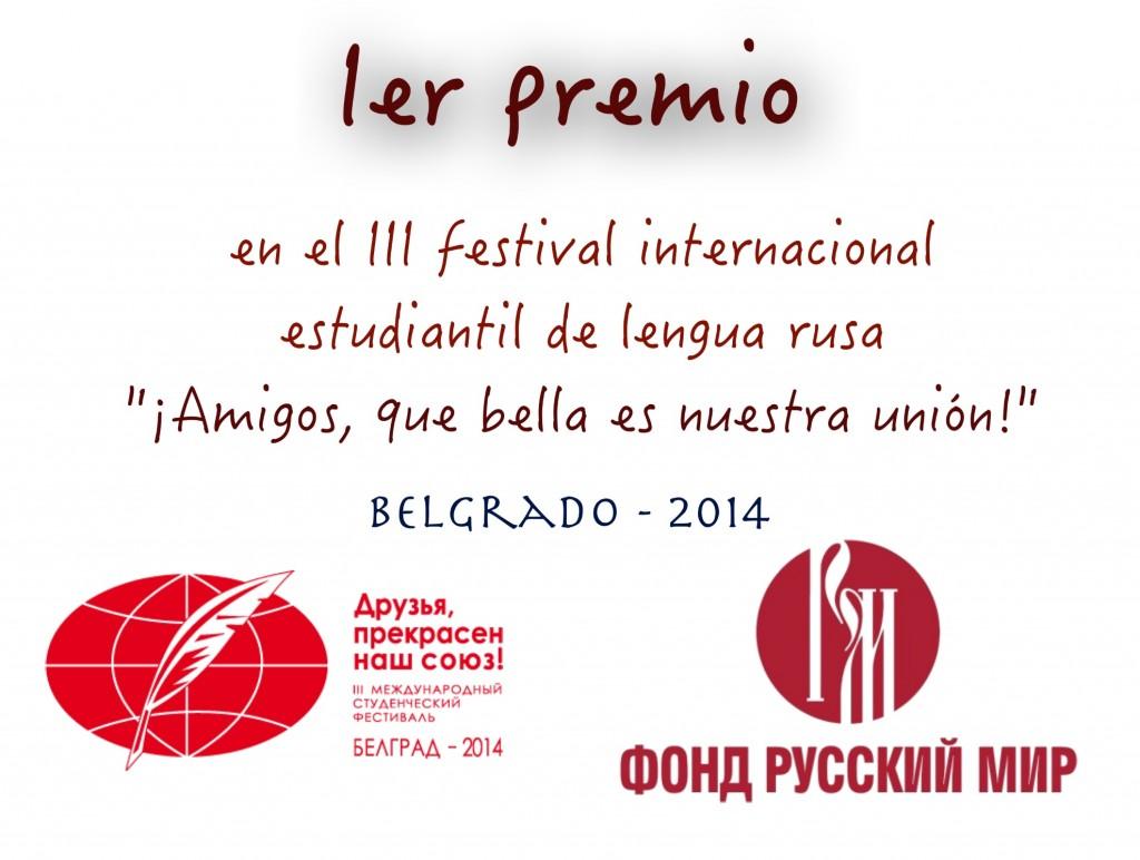 Ganadores del Festival Internacional de lengua rusa
