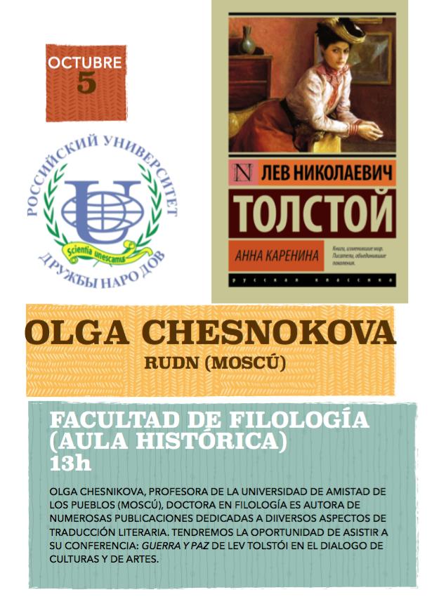 Conferencia Olga Chesnikova